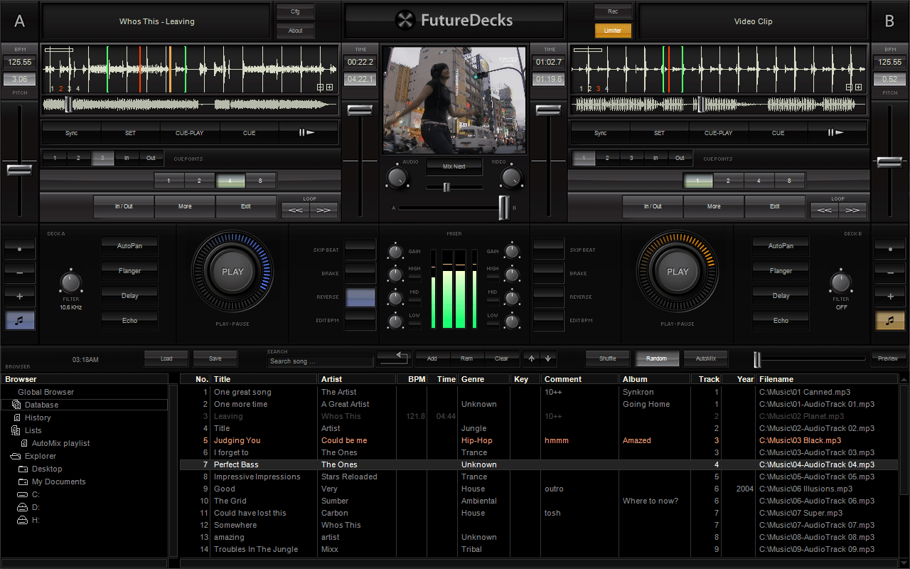Click to view FutureDecks 2.0.3 screenshot