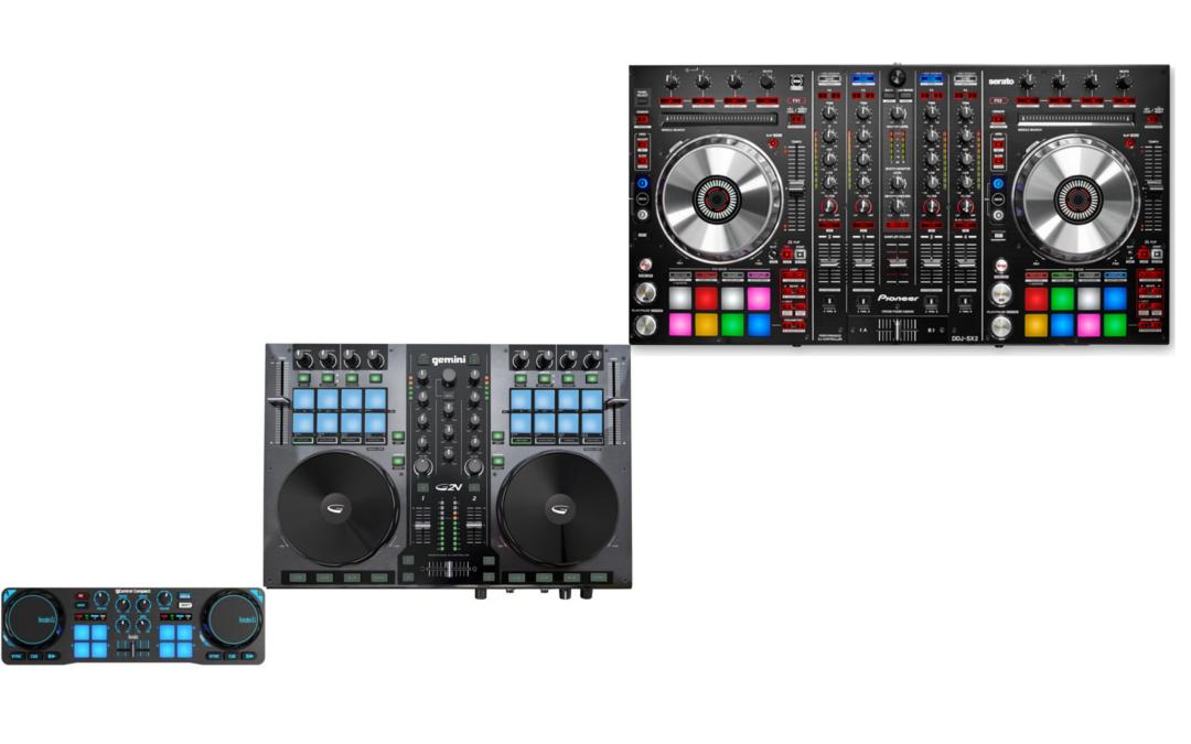 DJ Gear: Small vs. BIG Controllers